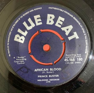 PRINCE BUSTER - AFRICAN BLOOD