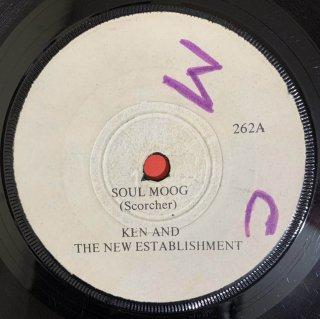 KEN AND THE NEW ESTABLISHMENT - SOUL MOOG