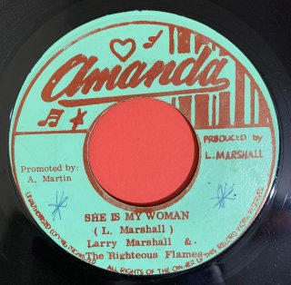 LARRY MARSHALL - SHE IS MY WOMAN