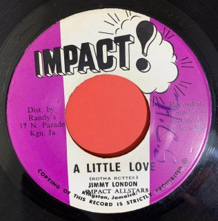 JIMMY LONDON - A LITTLE LOVE