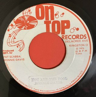 RONNIE DAVIS - YOU ARE THE FOOL
