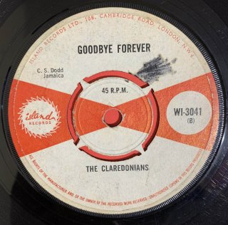 CLARENDONIANS - GOODBYE FOREVER