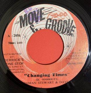 ROMAN STEWART - CHANGING TIMES