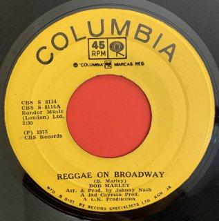 BOB MARLEY - REGGAE ON BROADWAY