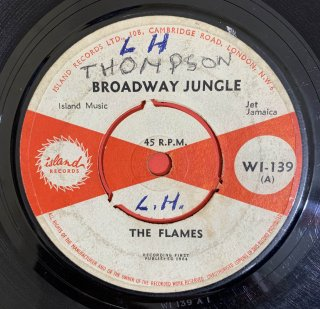 THE FLAMES (MAYTALS) - BROADWAY JUNGLE