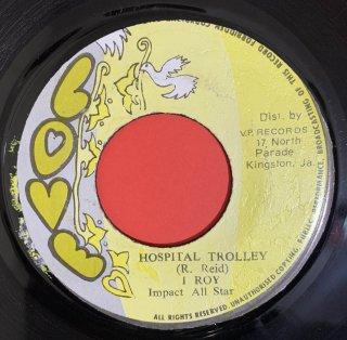 I ROY - HOSPITAL TROLLEY