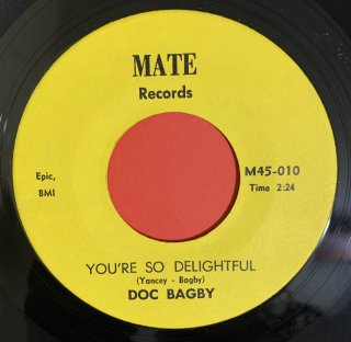 DOC BAGBY - YOU'RE SO DELIGHTFUL