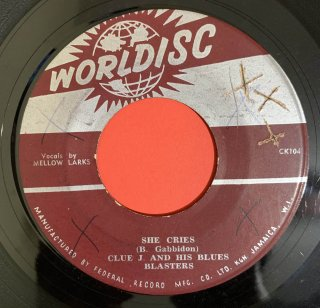 CLUE J & BLUES BUSTERS - SHE CRIES