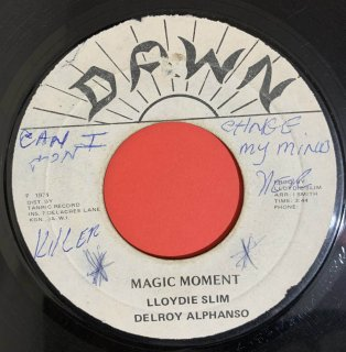 DELROY ALPHANSO - MAGIC MOMENT