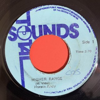 HORACE ANDY - HIGHER RANGE
