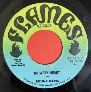 RONNY DAVIS - NO WEAK HEART