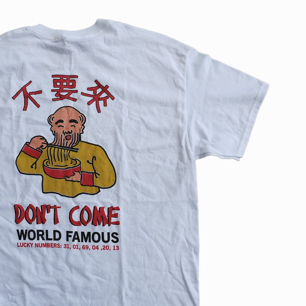 w-means(ダブルミーンズ) DON'T COME TEE 詳細画像2