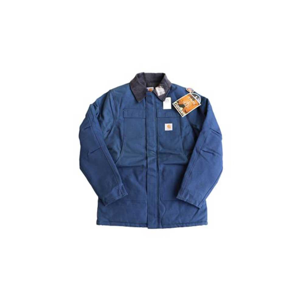 w-means(ダブルミーンズ) Cahartt Arctic Wear / TRADITIONAL COAT  アメリカ製 100%コットン 表記 40 Tall  紺 (デットストック) 詳細画像