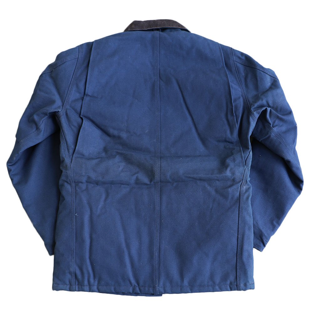 w-means(ダブルミーンズ) Cahartt Arctic Wear / TRADITIONAL COAT  アメリカ製 100%コットン 表記 40 Tall  紺 (デットストック) 詳細画像2