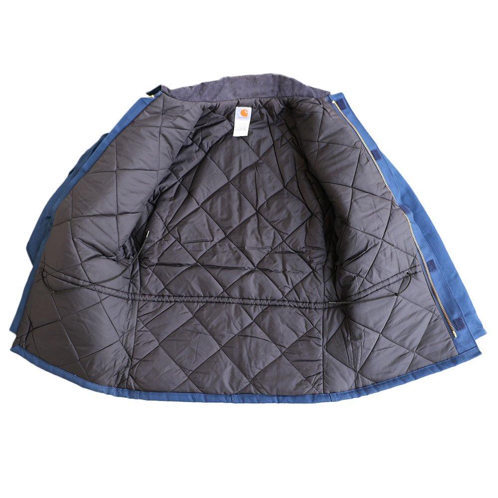 w-means(ダブルミーンズ) Cahartt Arctic Wear / TRADITIONAL COAT  アメリカ製 100%コットン 表記 40 Tall  紺 (デットストック) 詳細画像3