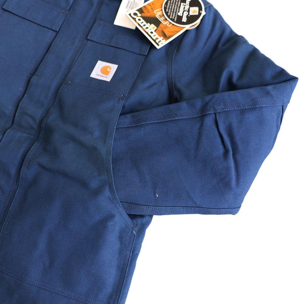 w-means(ダブルミーンズ) Cahartt Arctic Wear / TRADITIONAL COAT  アメリカ製 100%コットン 表記 40 Tall  紺 (デットストック) 詳細画像7
