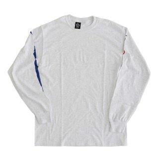 ALWAYTH  Long Sleeve Tee  アッシュグレー  表記 M , XL