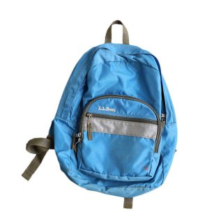 L.L.Bean  Backpack  kids用 100%ナイロン  水色