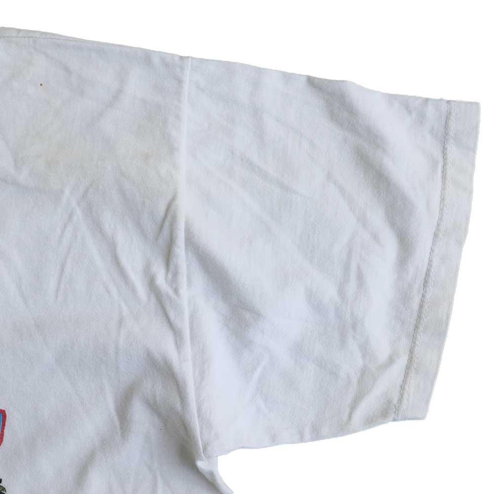 w-means(ダブルミーンズ) THE HAPPY FISHERMAN 半袖Tシャツ メキシコ製 表記xL しろ 詳細画像7