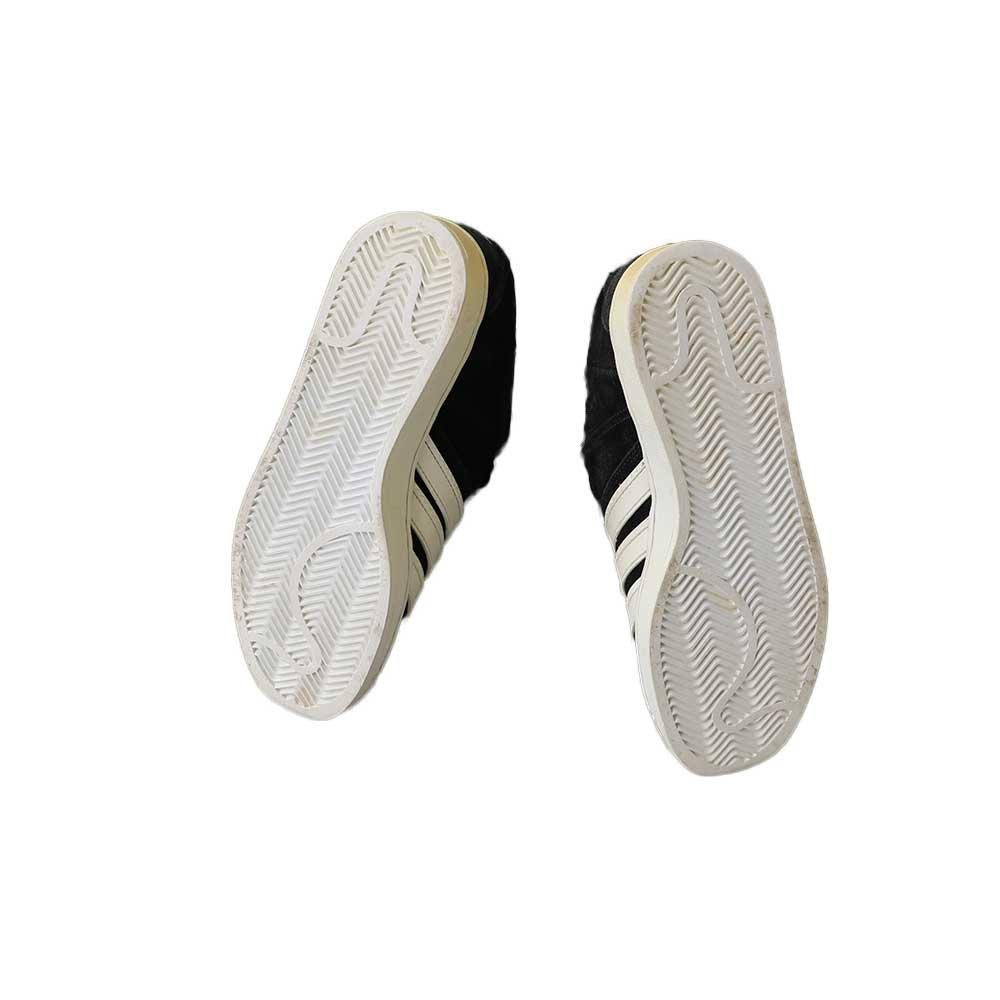 w-means(ダブルミーンズ) 2000年製 adidas スニーカー  中国製   表記10 / 28.0cm  黒×白 詳細画像5