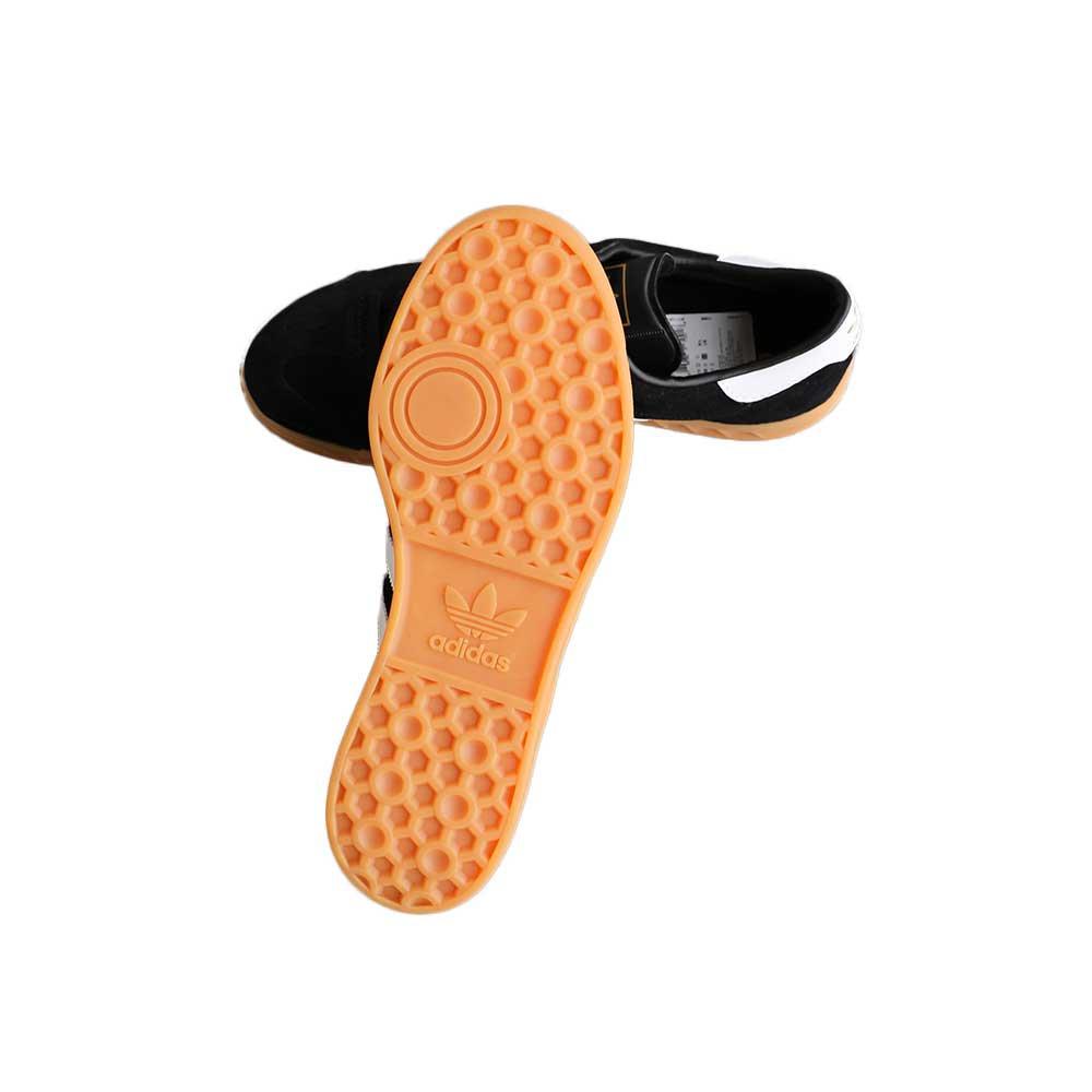 w-means(ダブルミーンズ) adidas HAMBURG  スーエードスニーカー  表記 8,9,10  黒×ガム 詳細画像5