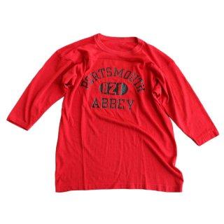 Unknown ナイロンフットボールTシャツ 表記なし RED
