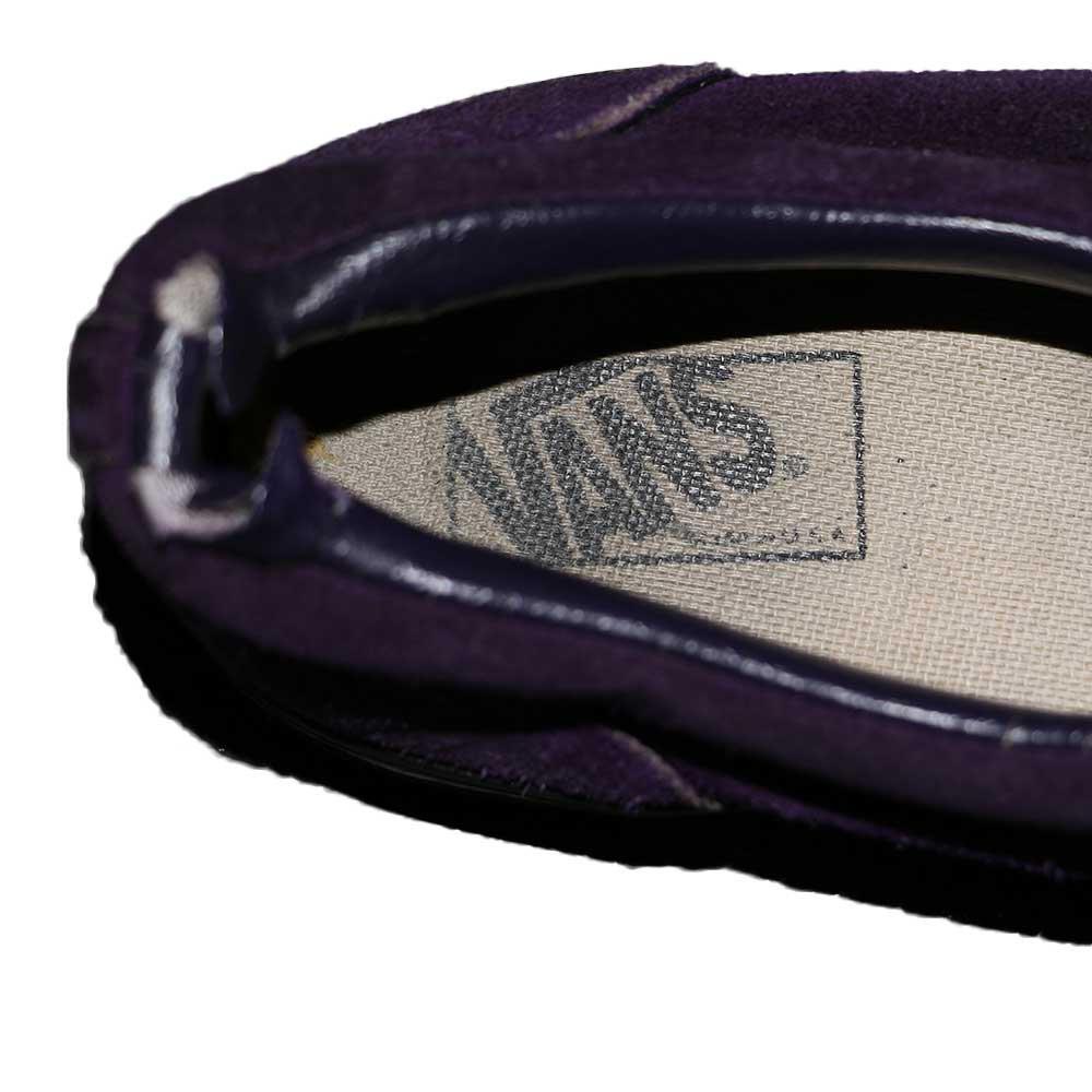 w-means(ダブルミーンズ) VANS ERA(アメリカ製)表記なし28.0cmくらい 紫×黒 詳細画像5