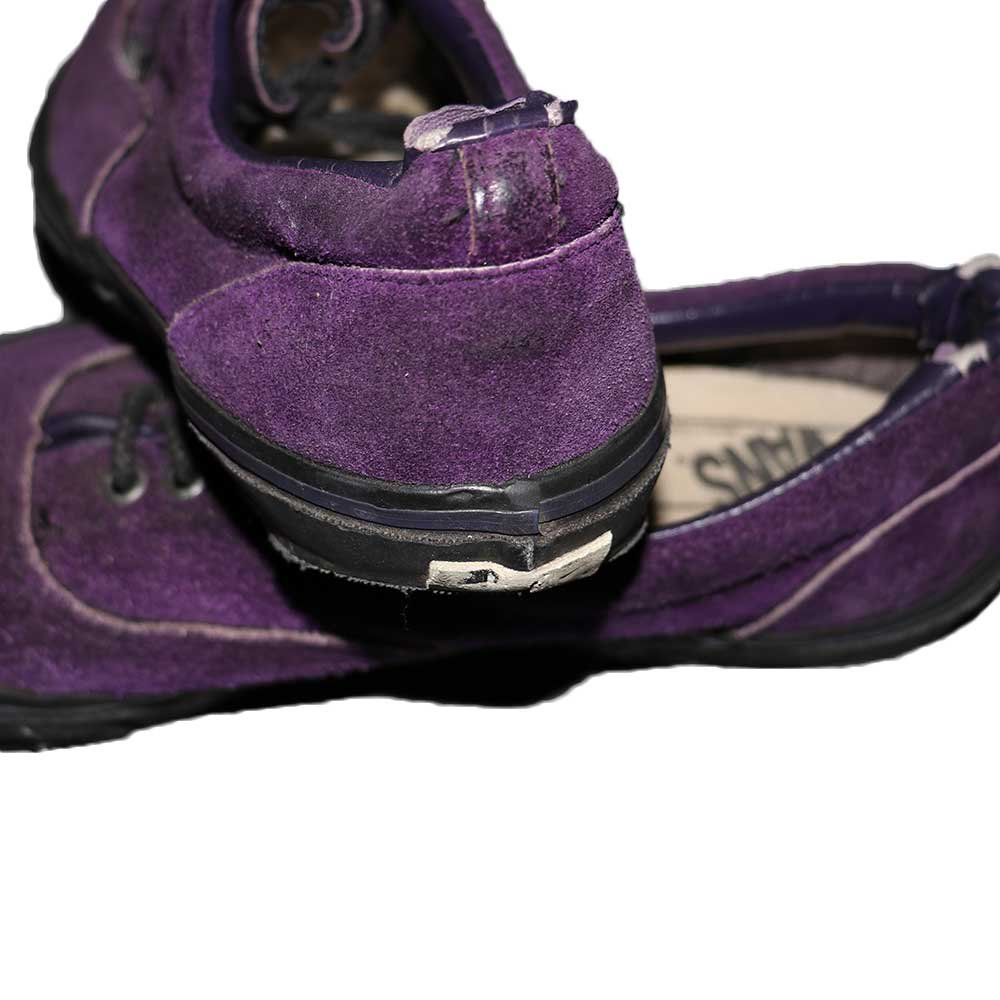 w-means(ダブルミーンズ) VANS ERA(アメリカ製)表記なし28.0cmくらい 紫×黒 詳細画像6