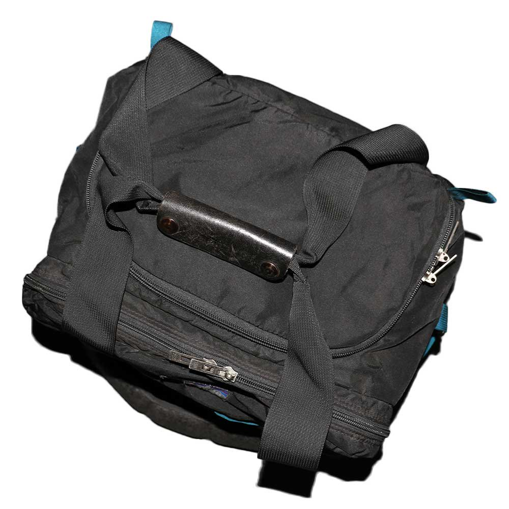 w-means(ダブルミーンズ) Patagonia Gear bag (アメリカ製)クロ 詳細画像2