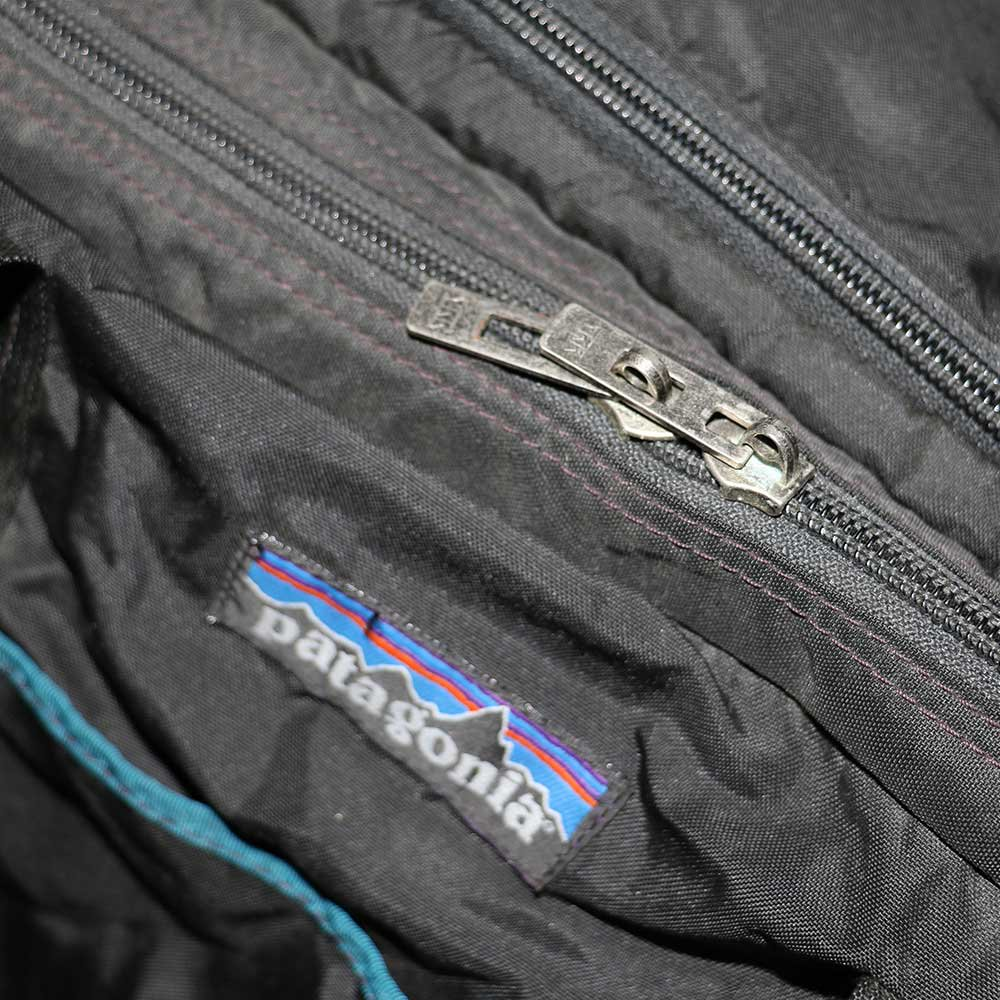 w-means(ダブルミーンズ) Patagonia Gear bag (アメリカ製)クロ 詳細画像4
