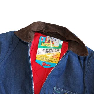 80's KEY IMPERIAL(デットストック)デニムカバーオール 表記36 インディゴ