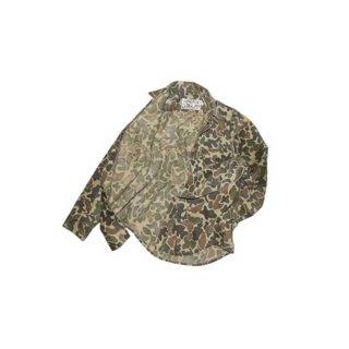 HUDSON BAY 50/50% ハンティングシャツ 表記なし ハンティングカモ