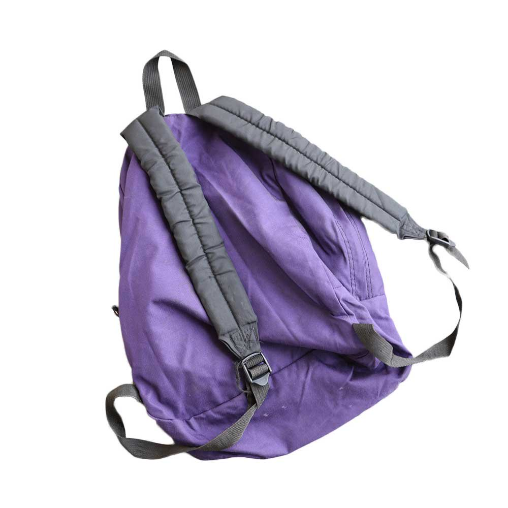 w-means(ダブルミーンズ) JANSPORT ナイロンバックパック(アメリカ製) 濃紫色 詳細画像1