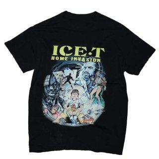 ICE-T コットン半袖Tシャツ 表記なし くろ