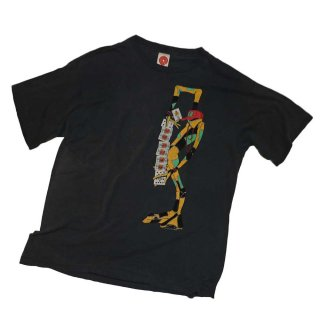 Powell Peralta  Ray Barbee 100%コットン半袖Tシャツ(made in U.S.A.)表記xL  炭黒