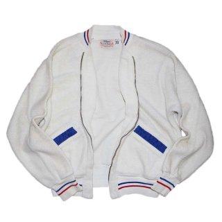 60's Wilson sports apparel ジップジャケット(アメリカ製)表記38 白
