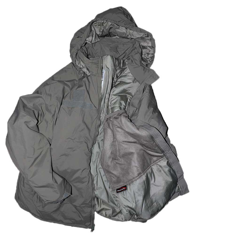 w-means(ダブルミーンズ) アメリカ軍 米軍 EXTREME COLD WEATHER GEN3 「APCU PARKA」Level7 表記L-R ストーングレー 詳細画像9