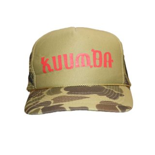 KUUMBA メッシュキャップ one size fits all カモ柄
