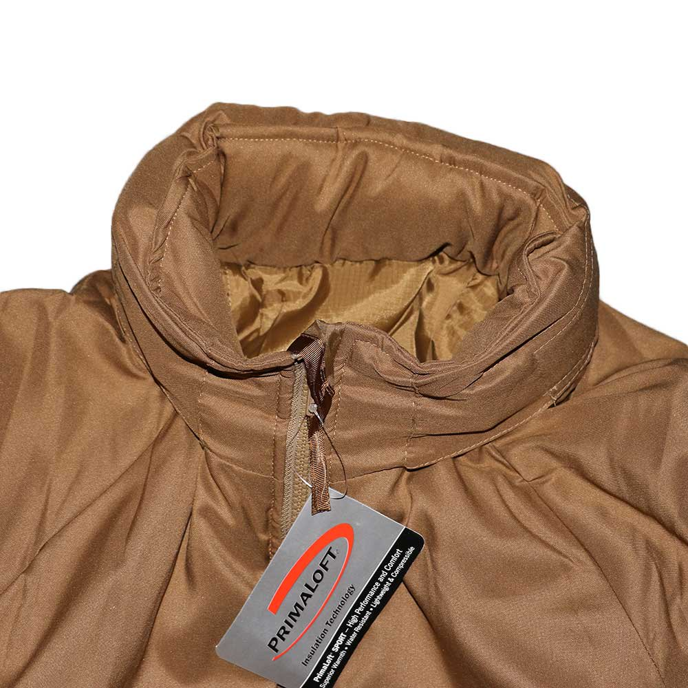 w-means(ダブルミーンズ) U.S.ARMY EXTREME COLD WEATHER GEN3 「APCU PARKA」Level 7 表記M-S コヨーテイエロー 詳細画像1
