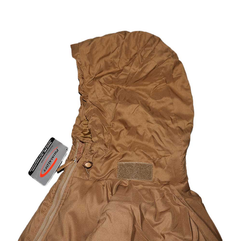 w-means(ダブルミーンズ) U.S.ARMY EXTREME COLD WEATHER GEN3 「APCU PARKA」Level 7 表記M-S コヨーテイエロー 詳細画像10