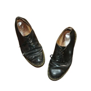DR.MARTENS 3ホール レザーシューズ(Made in ENGLAND)表記9 黒
