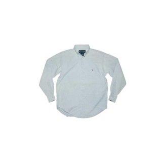 Polo Ralph Lauren コットン ボタンダウンシャツ 表記2 水色