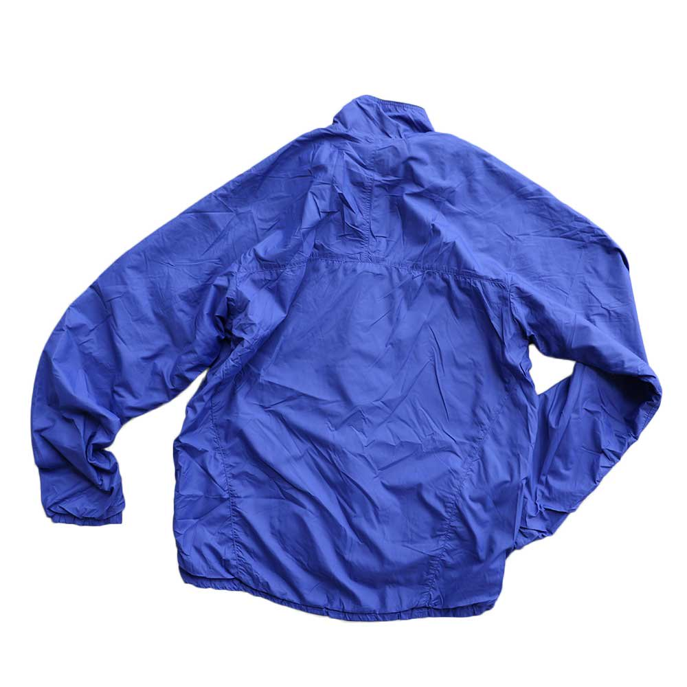 w-means(ダブルミーンズ) Patagonia nylon jacket(MADE IN FABRIQUE A U.S.A)表記M BLUE 詳細画像1