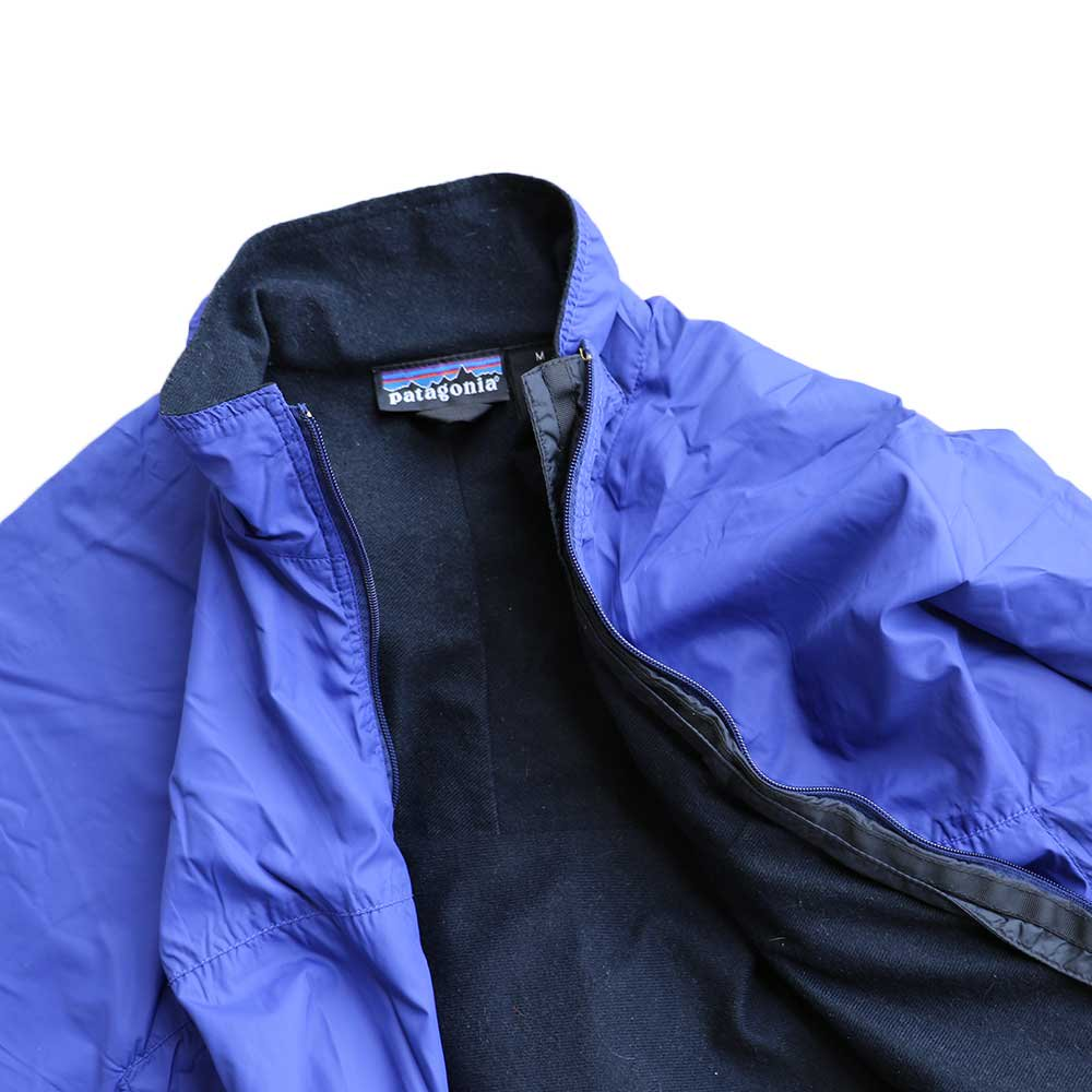 w-means(ダブルミーンズ) Patagonia nylon jacket(MADE IN FABRIQUE A U.S.A)表記M BLUE 詳細画像5