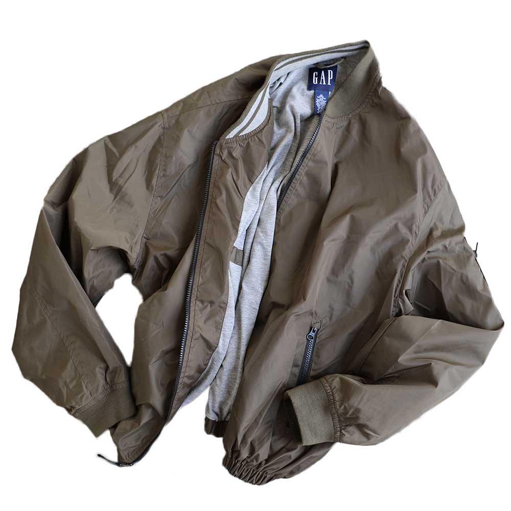 w-means(ダブルミーンズ) GAP nylon jacket 表記xL 茶色 詳細画像5