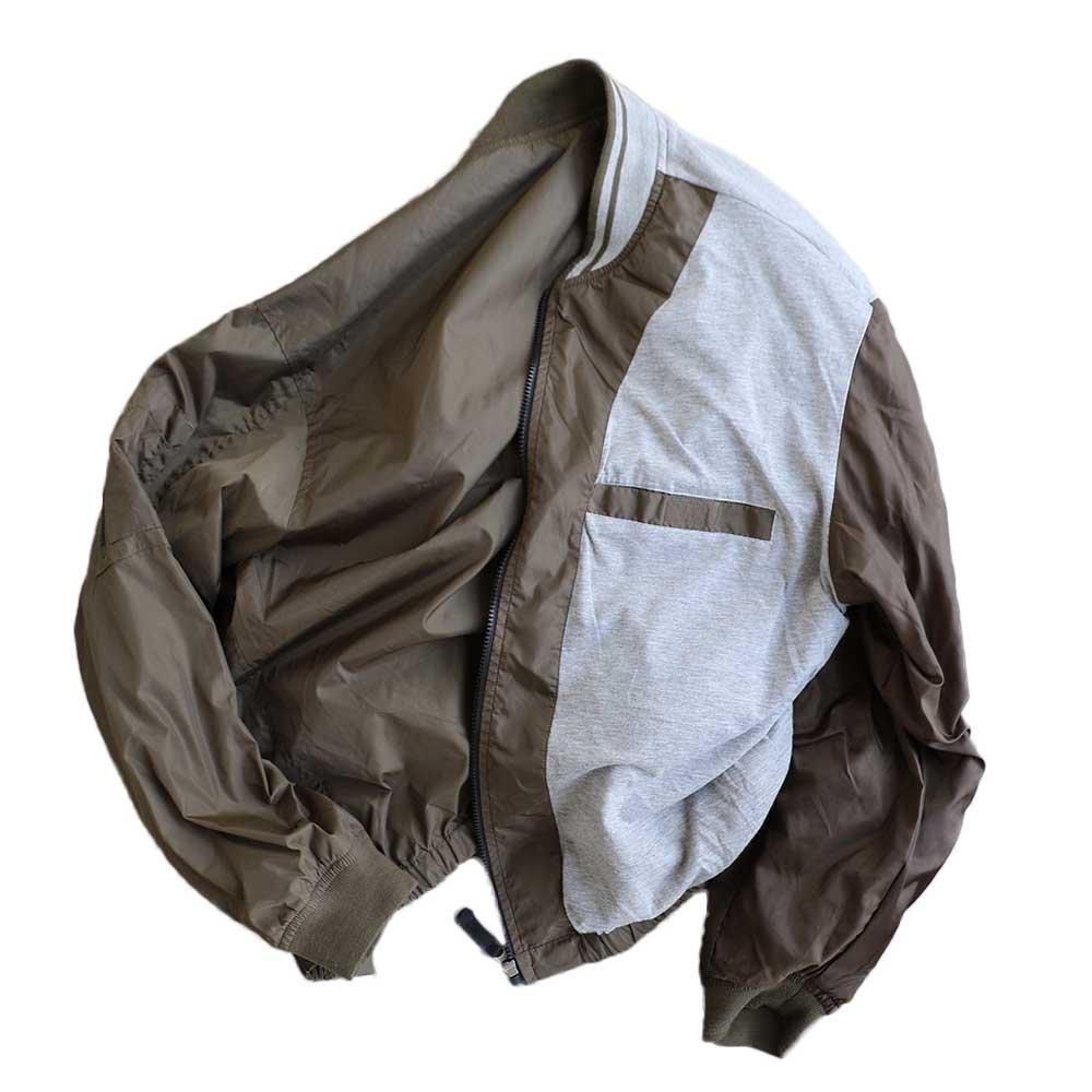 w-means(ダブルミーンズ) GAP nylon jacket 表記xL 茶色 詳細画像6