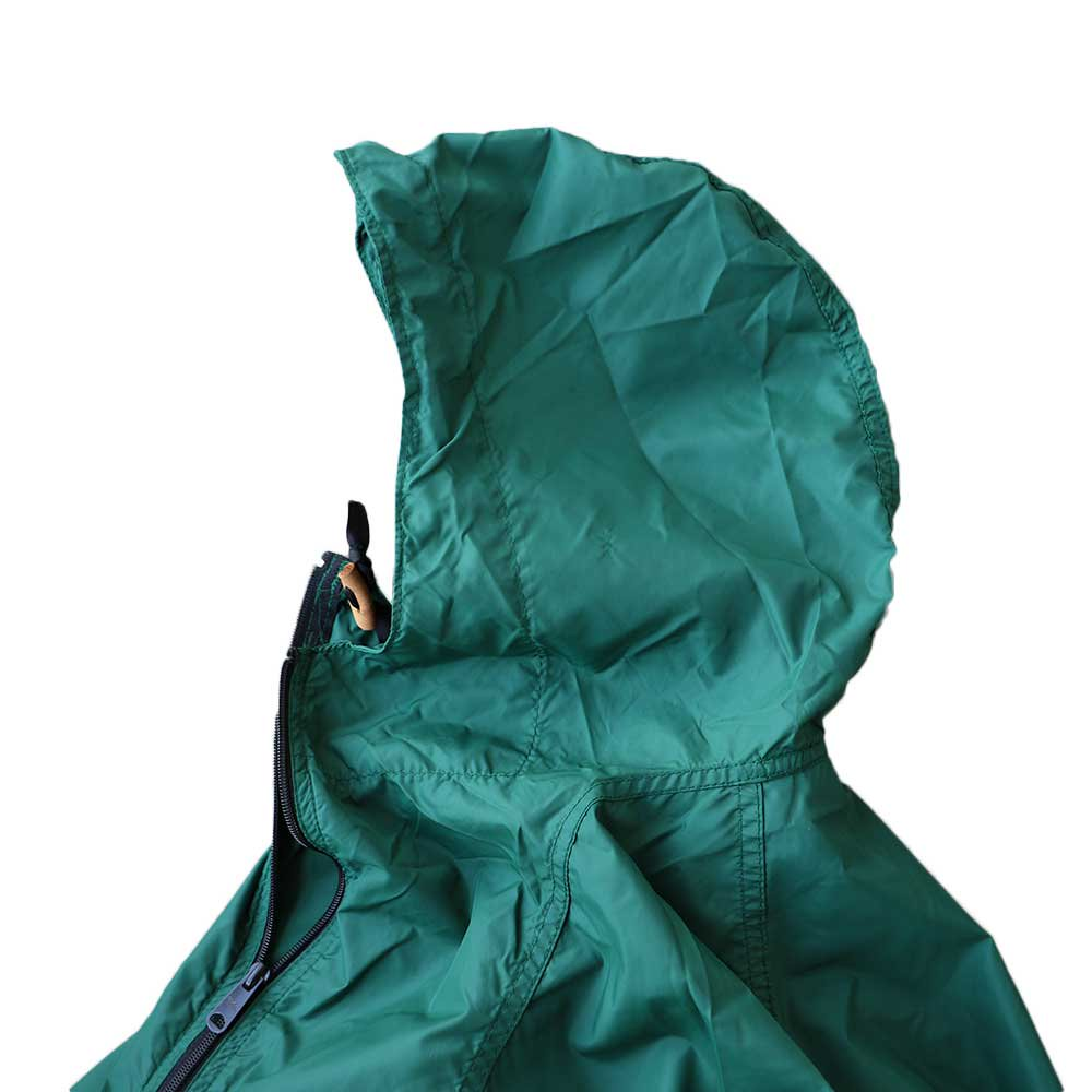 w-means(ダブルミーンズ) 80's L.L. Bean 100% Nylon Jacket(Made in U.S.A)表記M FORESTGREEN 詳細画像1