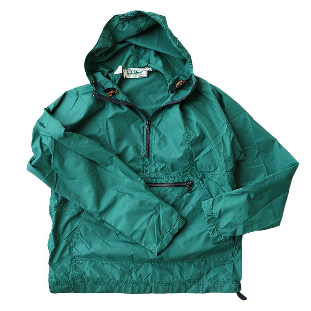 w-means(ダブルミーンズ) 80's L.L. Bean 100% Nylon Jacket(Made in U.S.A)表記M FORESTGREEN 詳細画像2