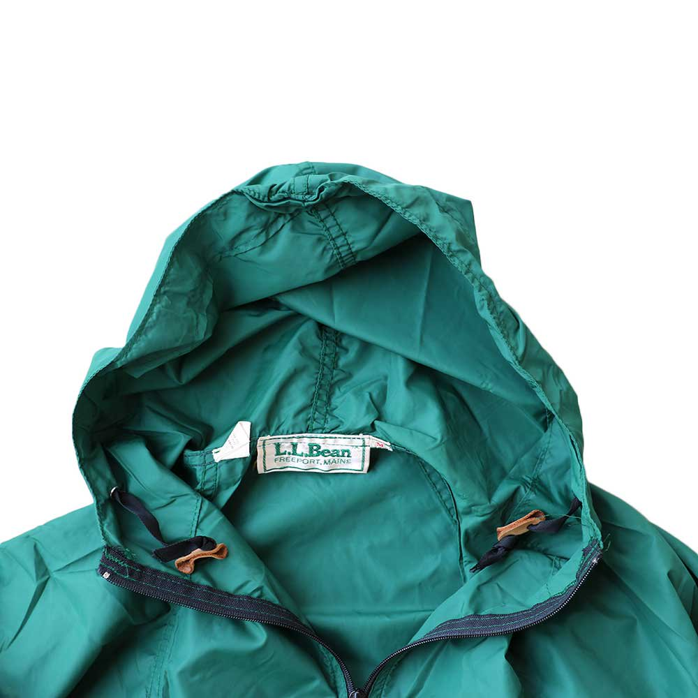w-means(ダブルミーンズ) 80's L.L. Bean 100% Nylon Jacket(Made in U.S.A)表記M FORESTGREEN 詳細画像3