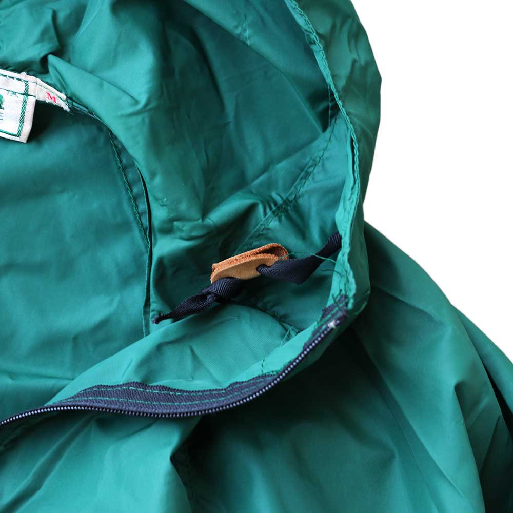 w-means(ダブルミーンズ) 80's L.L. Bean 100% Nylon Jacket(Made in U.S.A)表記M FORESTGREEN 詳細画像5